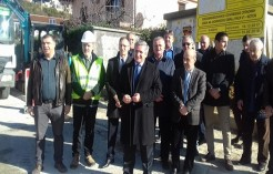 A GROUNDBREAKING CEREMONY FOR THE WORKS ON THE WATER SUPPLY NETWORK IN KOTOR